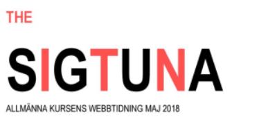 Allmän kurs webbtidning